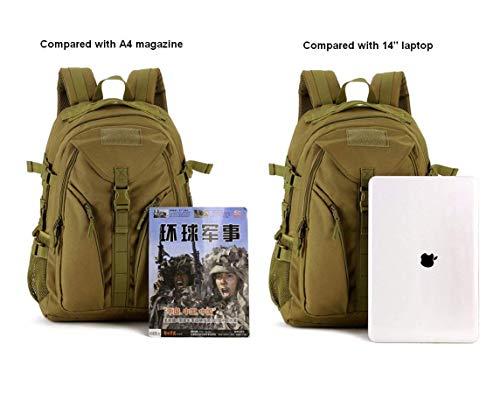 Huntvp 40L Sac à Dos Militaire Tactique Molle Grande Capacité Sac de Multifonction Homme pour Voyage Excursion Camping… 4