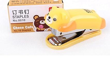 Y&Y Star Cute Panda Mini Desktop Stapler&staple Hand Stapler