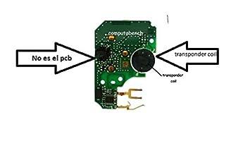 Renault Megane / bobina de transpondedor de reemplazo escénico solución para la clave no insertada o error reconocido