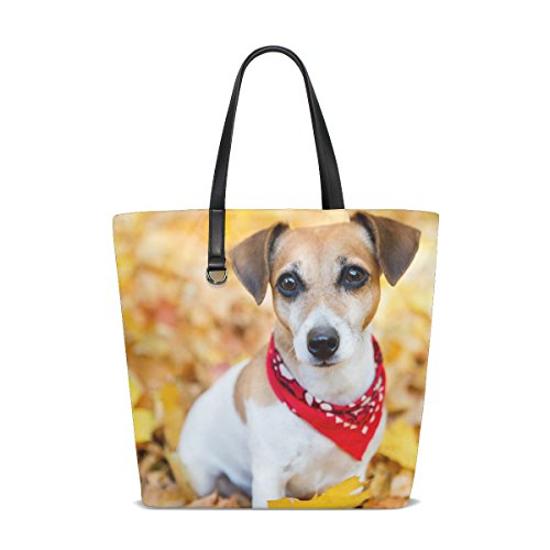 GIOVANIOR Jack Russell Terrier Puppy Dog Beach Tote for sale  Delivered anywhere in Canada