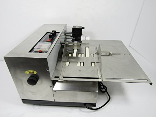 Automatic Solid Ink Printing Machine Coding Machine Date Coding Machine Date Printer Tags Coder (110V) ()
