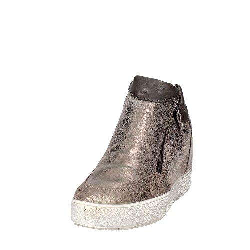Sneakers Marrone 83010 Donna Alta Imac Ywq5Cz