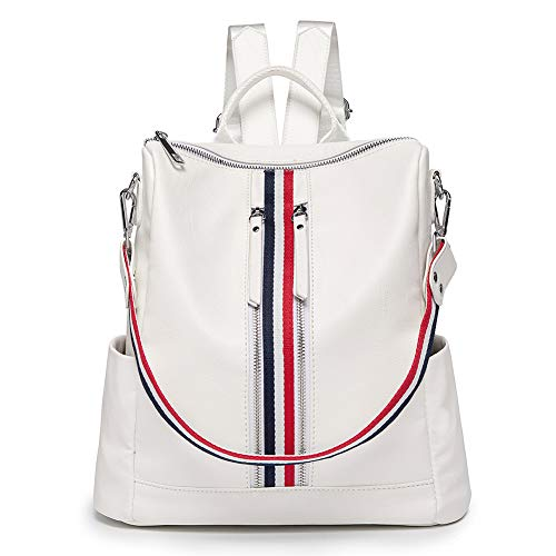 Women Backpack Purse Vegan Leather Handbag Casual Convertible Travel Shoulder Bag