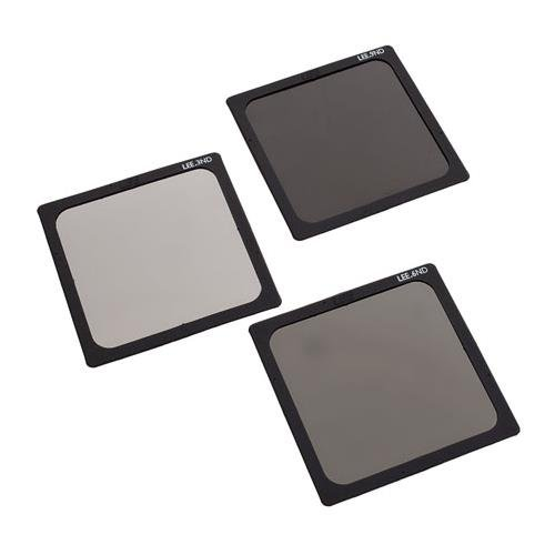 "Lee Filters 4x4"" Neutral Density Polyester Filter Set (0.3 ND , 0.6 ND, 0.9 ND)"