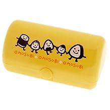 Kotobuki 280-404 Omusubi Friends Bento Case, Yellow