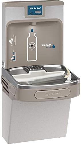 Elkay LZS8WSLP Enhanced EZH2O Bottle Filling Station Single ADA Cooler, Filtered 8 GPH Light Gray