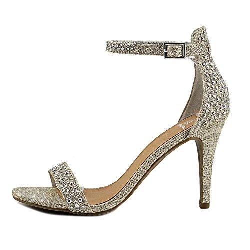 Material Girl Blair Women US 9 Silver Flats Tkmql