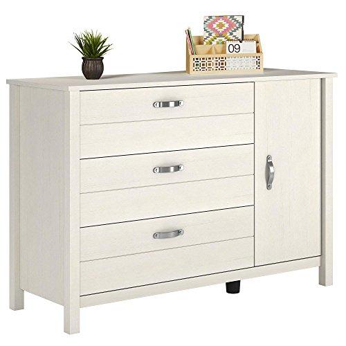 Cheap  Ameriwood Home 5982330COM River Layne Dresser, Vintage White