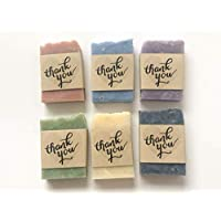 Thank You Soap Wedding Favors Set of 6