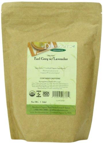 Davidson's Tea Bulk, Earl Grey with Lavender, 16-Ounce Bag