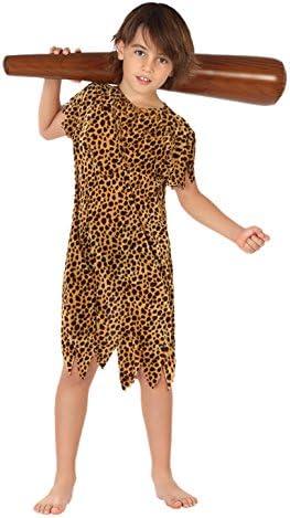 Atosa - Disfraz de cavernícola para niño, talla M, 5-6 años (111 ...