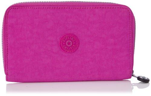 Kipling Women's Olvie Wristlet Wallet Pink Orchid (Orchid Pink Wristlet)