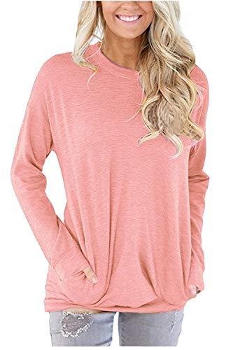 WIWIQS Femme Shirt WIWIQS Rose T T n6cxqWUZv