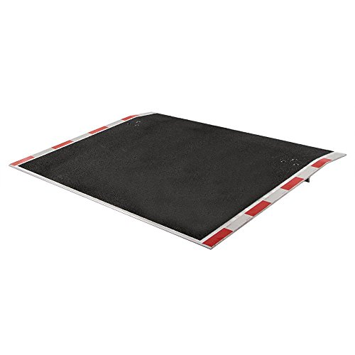 Ramp Forklift Dock (Guardian Dock Plate with Grit Surface - 6,000 lb. Weight Capacity)