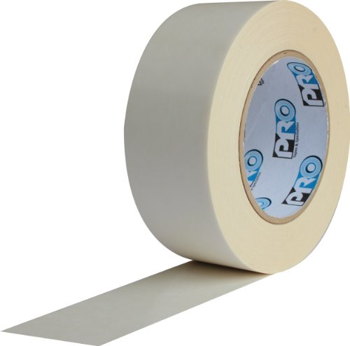 ProTapes Pro 400 Rubber Double Coated Multi Purpose Crepe Paper Tape, 8.5 mils Thick, 36 yds Length x 1