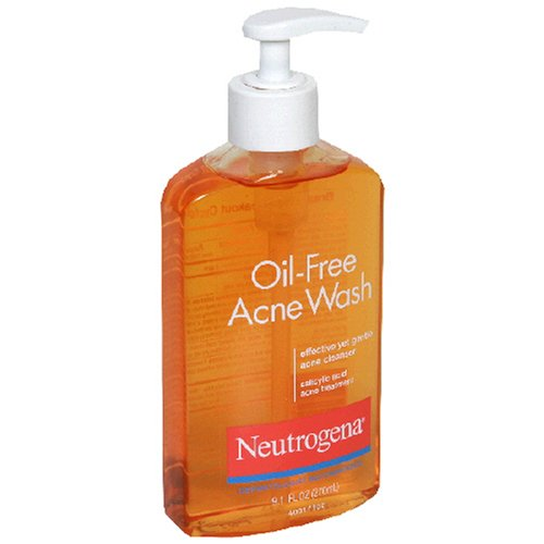 Neutrogena Salicylic Acid Acne Treatment, Oil-Free Acne Wash, 9.1 Fluid Ounce (270 ml)