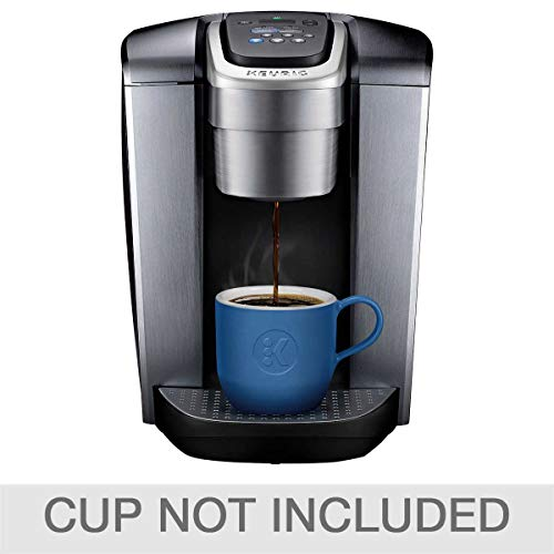 Keurig Fil K-Elite C Single Serve Coffee Maker (Brushed Silver) with 15, Water Filter, and My K-Cup, 2