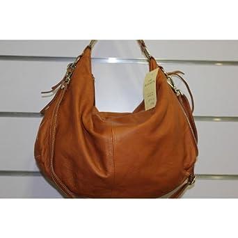 4b60d0445f Kevim - sac a main en cuir souple 6 coloris 9009 / made in italy - Couleur  Camel Fonce: Amazon.fr: Vêtements et accessoires