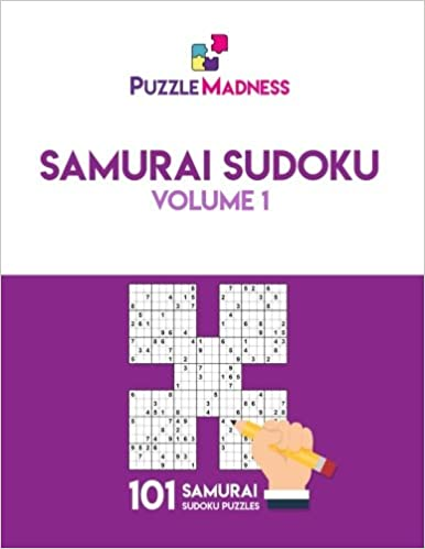 graphic about Samurai Sudoku Printable identify Samurai Sudoku: Amount of money 1: 101 puzzles: PuzzleMadness