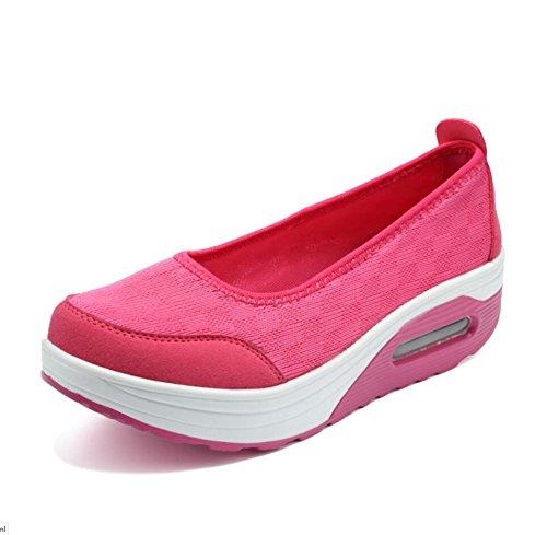 XUE Damenschuhe Mesh Frühling Fahr Herbst Loafers & Slip-Ons Fahr Frühling Schuhe Fitness Shake Schuhes Shake Schuhe Shaking Schuhe Flache Loafers Sneakers Sportschuhe Plateauschuhe (Farbe : E, Größe : 39) db8e42