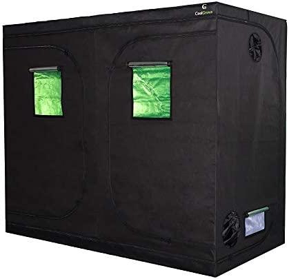 Mylar 수경은 실내 식물 성장을위한 Obeservation 창문 및 바닥 트레이가 있는 성장 텐트 ... / Mylar 수경은 실내 식물 성장을위한 Obeservation 창문 및 바닥 트레이가 있는 성장 텐트 ...