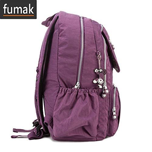 Amazon.com: Laptop Backpack - School Backpack for Teenage Girls Student Bag Mochila Feminina Women Back Pack Nylon Big Travel Laptop Bagpack Sac A Dos ...
