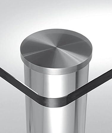 Gedotec Rond Table Pied Meuble - Couvercle de Fixation de Pied de ...