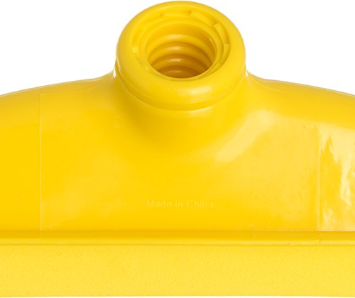 Carlisle 4156804 Spectrum Double Foam Rubber Floor Squeegee, 24'' Width, Yellow (Case of 6) by Carlisle (Image #3)