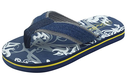 Price comparison product image Sunville Starbay Brand New Kid's Slip-On Flip Flop (7506navy,11)