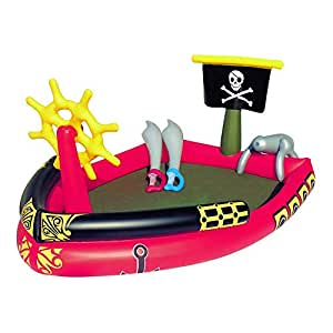 AMWFF - Barco Pirata de Placer para niños, Plegable, bañera ...