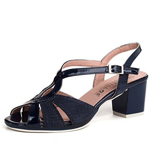 pitillos sandalia negro 39