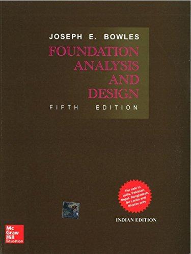 - Foundation Analysis And Design