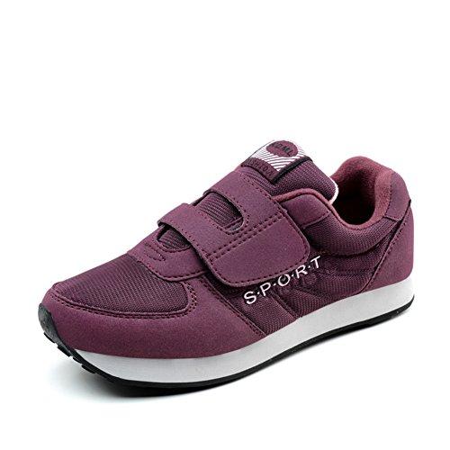zapatos otoño a pie/Antiguos zapatos de los deportes/viejas zapatillas casuales/Suave antideslizante calzado para señora mayor C
