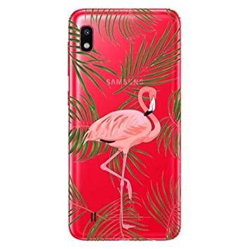 coque samsung a10 flamant rose
