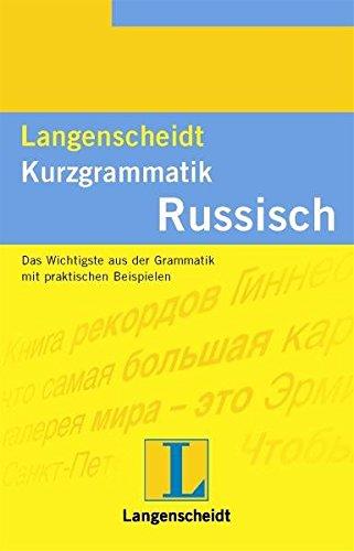 Langenscheidt Kurzgrammatik, Russisch
