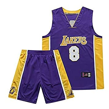 Camiseta de Baloncesto for Hombre Kobe Bryant No. 8 Chándal de ...