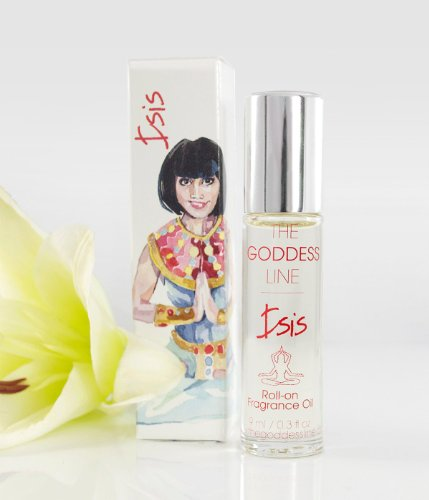Isis Fragrance – Goddess of Rebirth, Fertility, and Magic 0.33 oz Perfume Roll-On