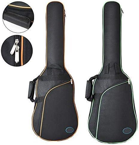 OriGlam - Mochila para guitarra eléctrica de 38 pulgadas, funda ...