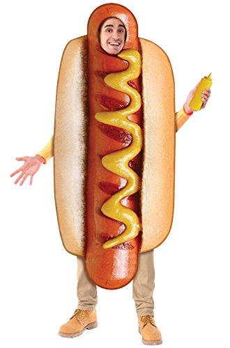 Forum Novelties Funny Hot Dog Adult Costume - Standard