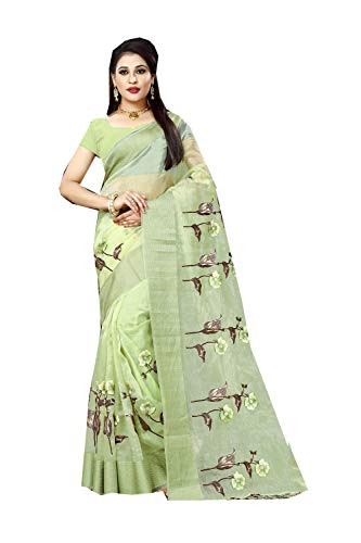 Indian Designer Party Palegreen Sari Sarees Traditional Facioun Da For Wear Women Spw6Pa5qgx