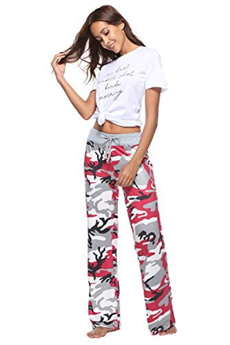 Hip Stampa Floreale Lungo Sportivi Tuta Estivo Donna Pantalone Trousers Yoga Vita Alta 34 Hippie Leg Harem Larghi Pants Jumpsuit Jogging per Baggy Chic Hop Pantaloni Pigiama Danza Boho Wide Palestra Color xXPqvwS7