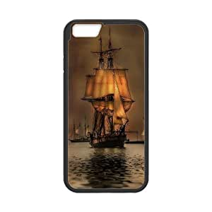 Best Quality [LILYALEX PHONE CASE] Tall ship & Sailing Vessel For Apple Iphone 6 Plus 5.5 inch screenCASE-12