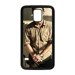 Samsung Galaxy S5 Phone Case Black The Walking Dead HOD534503