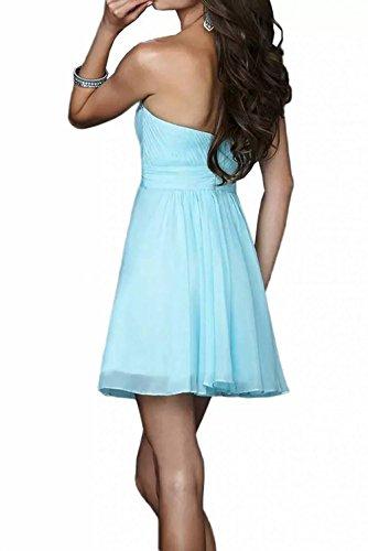Mini Elegant Marie Kurz Flieder Blau 2016 Partykleider Cocktailkleider Neu Braut Brautjungfernkleider La Chiffon Herzausschnitt wZq6pzfx6E
