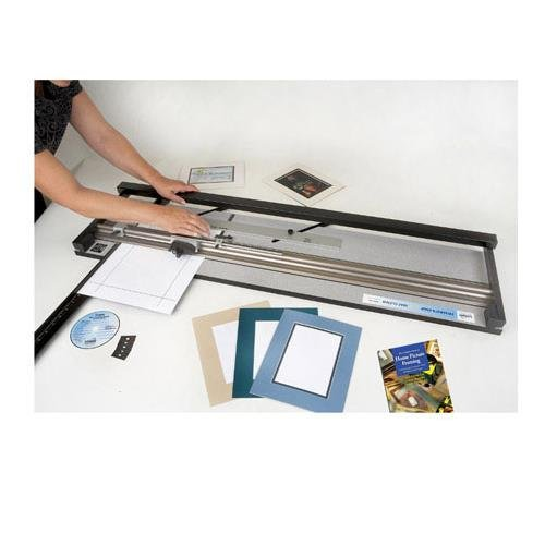 Logan 650-1 Framer's Edge Elite 40 Inch Mat Cutter for Framing, Matting and Hobby (Logan Square Print)