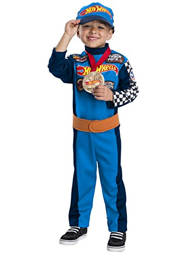 Hot Wheels Child's Hot Wheels Driver Costume, Small