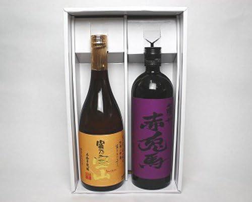 富乃宝山(芋)25度・赤兎馬 紫(芋)25度 720ml 2本入りギフトBOX 無料包装可