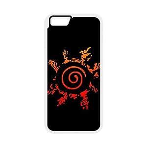 NARUTO NAW051 funda iPhone 6s de 4.7 pufunda LGadas del teléfono celular de cubierta blanca funda, funda de plástico caja del teléfono celular