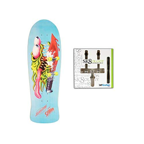 Santa Cruz Skateboard Deck Slasher X Edmiston 10.1