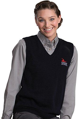 Ed Garments Women's V-Neck Vest With Tuff-Pil? Plus